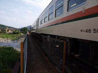下呂の鉄橋